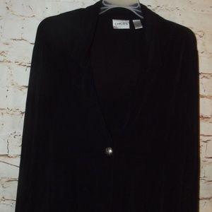 Chicos Travelers Cardigan Jacket BLACK